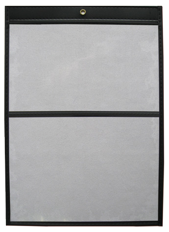 Double Pocket Vinyl Job Jackets/Envelopes, Click on the Color Wheel to see available colors