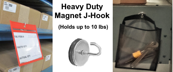 Magnetic J-Hook Heavy Duty