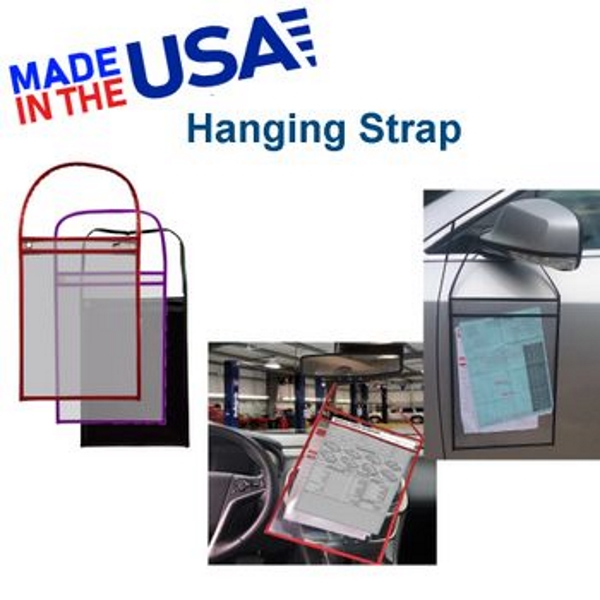Repair Ticket Holders with Hanging Strap