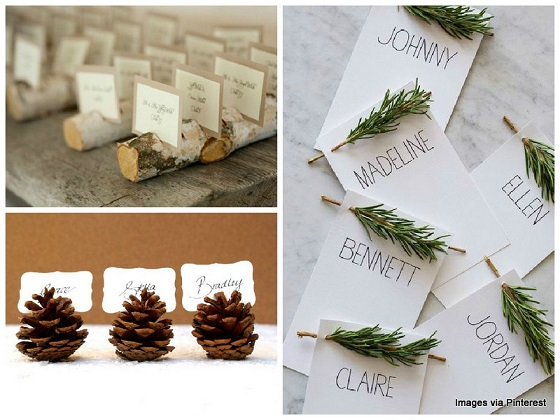 Wedding Rustic Placeholders