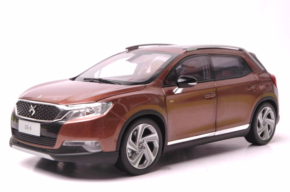 1:18 Diecast Model for Citroen DS 6 SUV Alloy Toy Car Miniature Collection Gift DS6 (Alloy Toy Car, Diecast Scale Model Car, Collectible Model Car, Miniature Collection Die-cast Toy Vehicles Gifts)