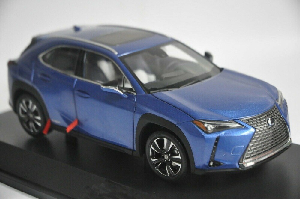 1:18 Diecast Model for Lexus UX 260h 2020 Blue SUV Alloy Toy Car Miniature Collection Gift UX 260 UX260h Toyota