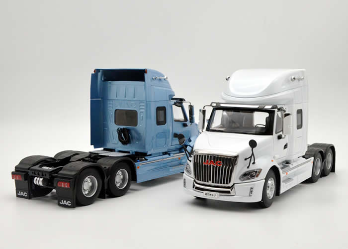 1:24 Diecast Model for JAC GALLOP V7 Truck Alloy Toy Car Miniature Collection Gifts China Brand