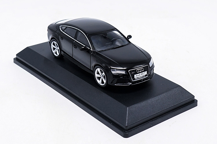 1/43 Audi RS7 Deep Black Sportback Alloy Toy Car, Diecast Scale Model Car, Collectible Model Car, Miniature Collection Die-cast Toy Vehicles Gifts