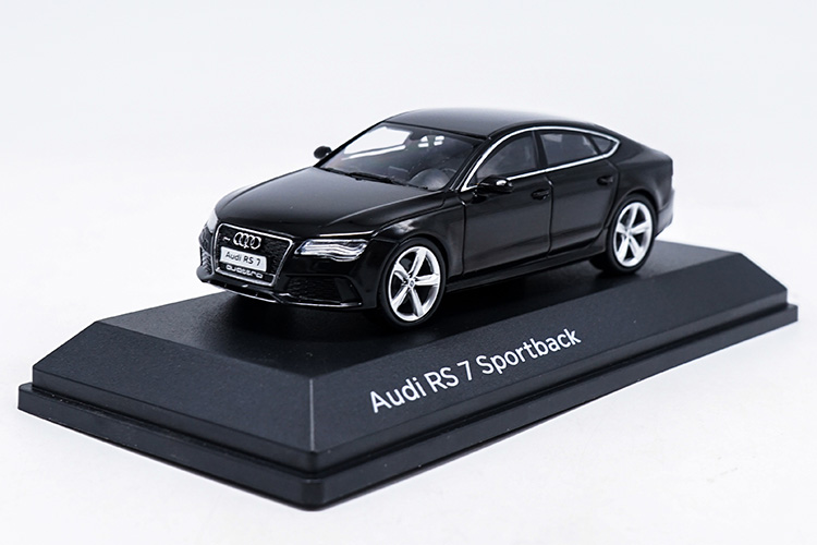 1/43 Audi RS7 Deep Blue Sportback Alloy Toy Car, Diecast Scale Model Car, Collectible Model Car, Miniature Collection Die-cast Toy Vehicles Gifts