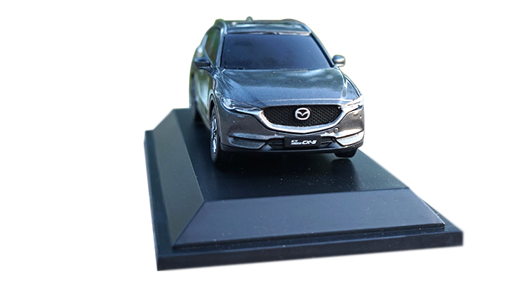 1/43 Mazda CX-5 2018 CX5 CX 5 GRAY SUV Alloy Toy Car, Diecast Scale Model Car, Collectible Model Car, Miniature Collection Die-cast Toy Vehicles Gifts