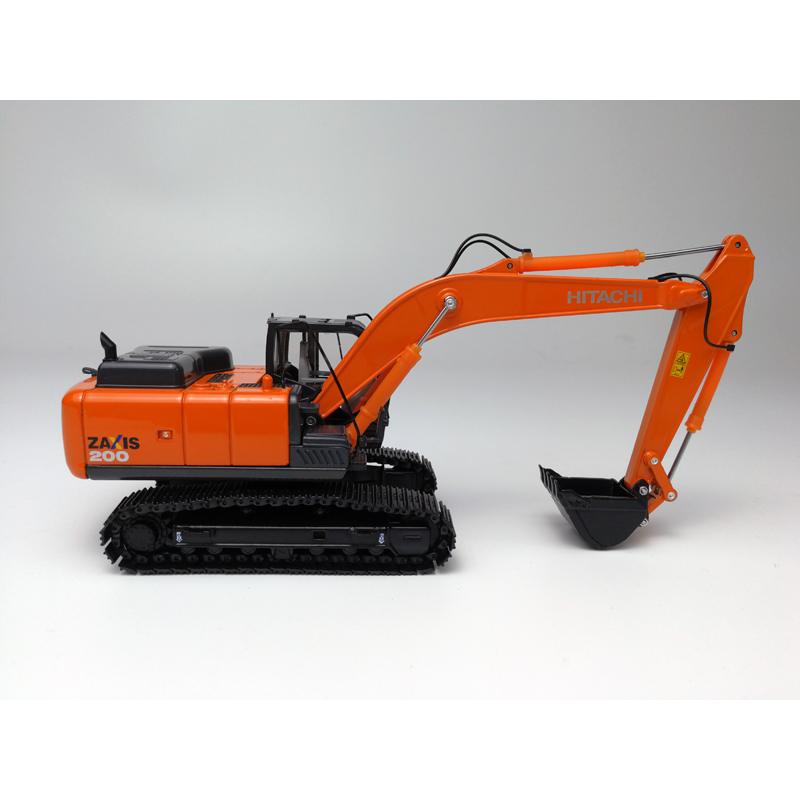 1:50 HITACHI ZAXIS200-5 Excavator Toys, (Scale Model Truck, Construction vehicles Scale Model, Alloy Toy Car, Diecast Scale Model Car, Collectible Model Car, Miniature Collection Die-cast Toy Vehicles Gifts).