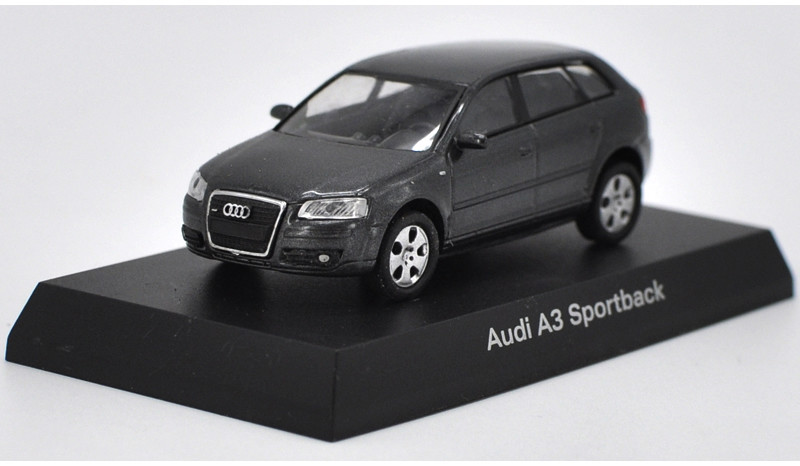 1:64 Diecast Model for Audi A3 SPORTBACK Alloy Toy Car Miniature Gifts (Alloy Toy Car, Diecast Scale Model Car, Collectible Model Car, Miniature Collection Die-cast Toy Vehicles Gifts)