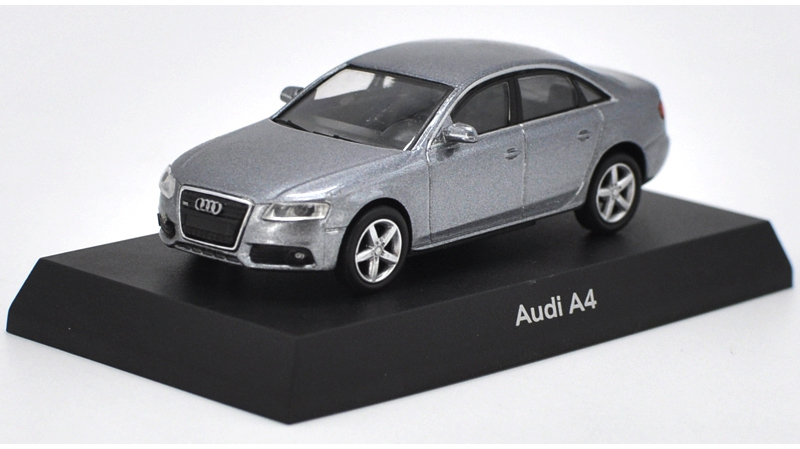 1:64 Diecast Model for Audi A4 GRAY SEDAN Alloy Toy Car Miniature Gifts S4 (Alloy Toy Car, Diecast Scale Model Car, Collectible Model Car, Miniature Collection Die-cast Toy Vehicles Gifts)