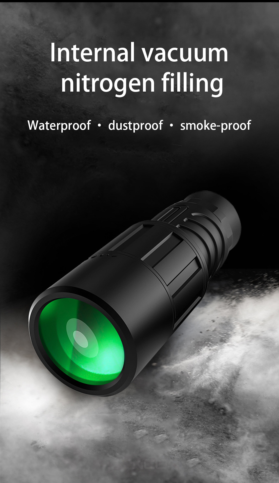 10x40 Powerful HD Monocular Low Light Night Vision Professional Powerful Telescope for Camping Nitrogen-filled Waterproof, (Telescope For Sale, Telescope For Adults, Telescope For Kids, Telescope For Beginners, Best Outdoor Telescope).