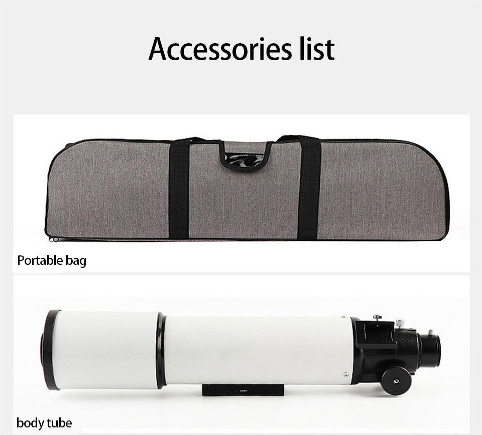 150X Refractive Professional Astronomical Telescope HD Zoom Refracting Monocular Night Vision for Space Astronomical Telescope, (Telescope For Sale, Telescope For Adults, Telescope For Kids, Telescope For Beginners, Best Outdoor Telescope).