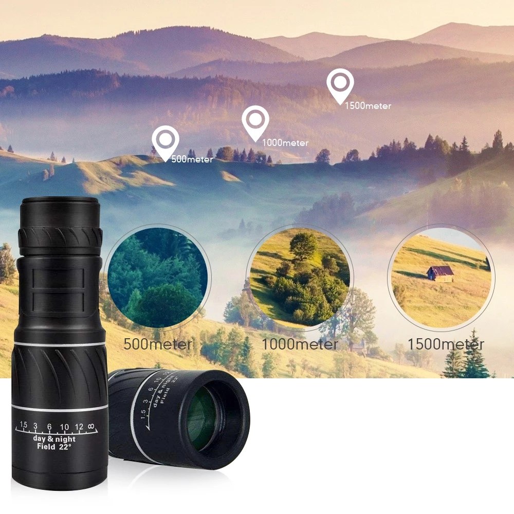16X52 Monocular Telescope Large Eyepiece Super Telescope Lll Night Vision Scope Full Optics Material For Hunting Dropshipping, (Telescope For Sale, Telescope For Adults, Telescope For Kids, Telescope For Beginners, Best Outdoor Telescope).