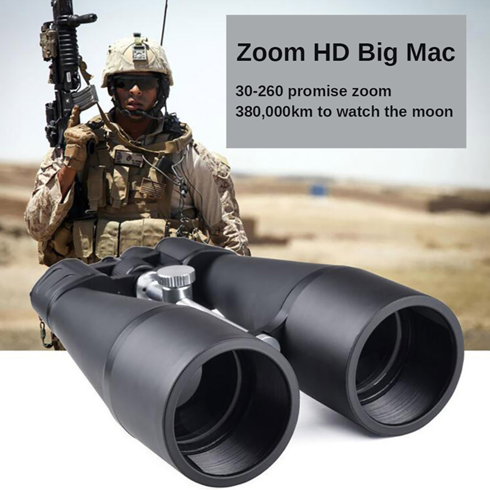 30-260X160Binoculars Telescope High-End High Definition Powerful Light Night Vision 80 Caliber Optical Glass for Camping Hiking, (Telescope For Sale, Telescope For Adults, Telescope For Kids, Telescope For Beginners, Best Outdoor Telescope).