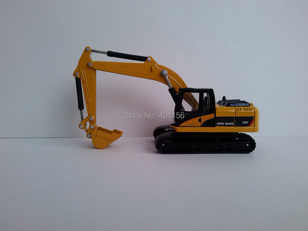1:60 320 Hydraulic Excavator toy, (Scale Model Truck, Construction vehicles Scale Model, Alloy Toy Car, Diecast Scale Model Car, Collectible Model Car, Miniature Collection Die cast Toy Vehicles Gifts).