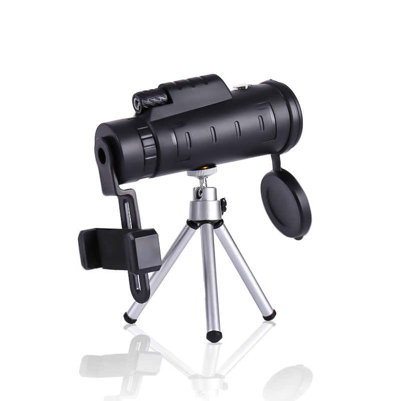 40x60 Zoom Monocular Telecope BAK4 Prism Professional Telescopes Lll Night Vision Monocular With Compass Pocket Size For Camping, (Telescope For Sale, Telescope For Adults, Telescope For Kids, Telescope For Beginners, Best Outdoor Telescope).