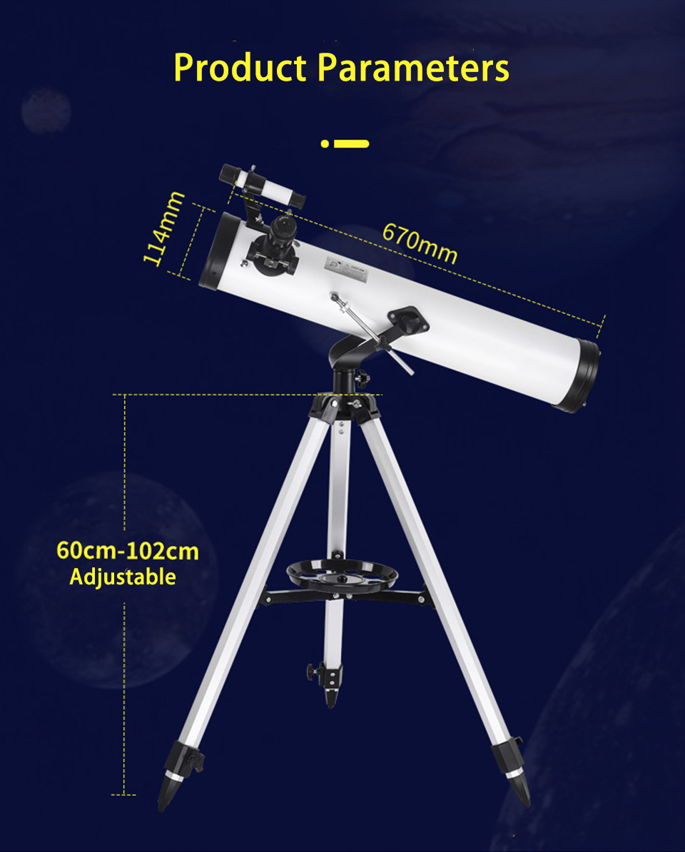 875 Times Professional Astronomical Telescope HD Night Vision Deep Space Star View Moon for Outdoor Camping Powerful Monocular, (Telescope For Sale, Telescope For Adults, Telescope For Kids, Telescope For Beginners, Best Outdoor Telescope).