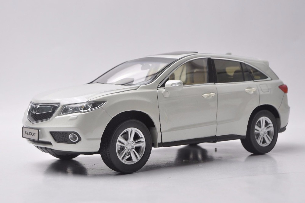 1/18 Acura RDX White SUV Alloy Toy Car, Diecast Scale Model Car, Collectible Model Car, Miniature Collection Die-cast Toy Vehicles Gifts