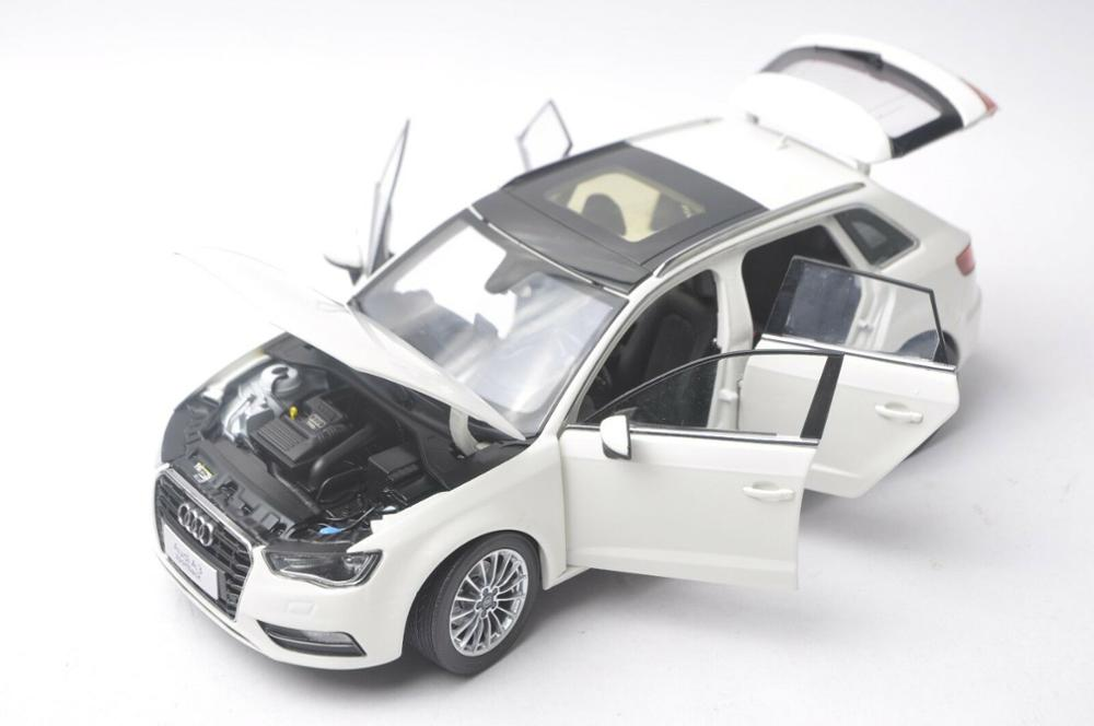 1/18 Audi A3 S3 Sportback White SUV Alloy Toy Car, Diecast Scale Model Car, Collectible Model Car, Miniature Collection Die-cast Toy Vehicles Gifts