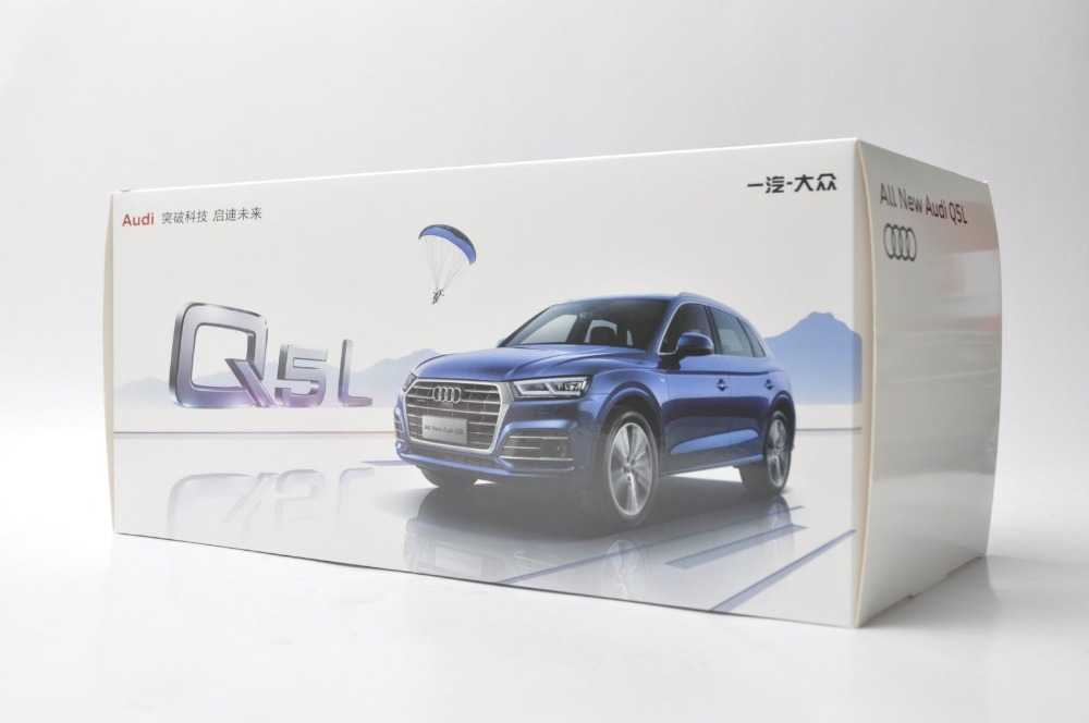1/18 Audi Q5L Q5 2018 Black SUV Alloy Toy Car, Diecast Scale Model Car, Collectible Model Car, Miniature Collection Die-cast Toy Vehicles Gifts