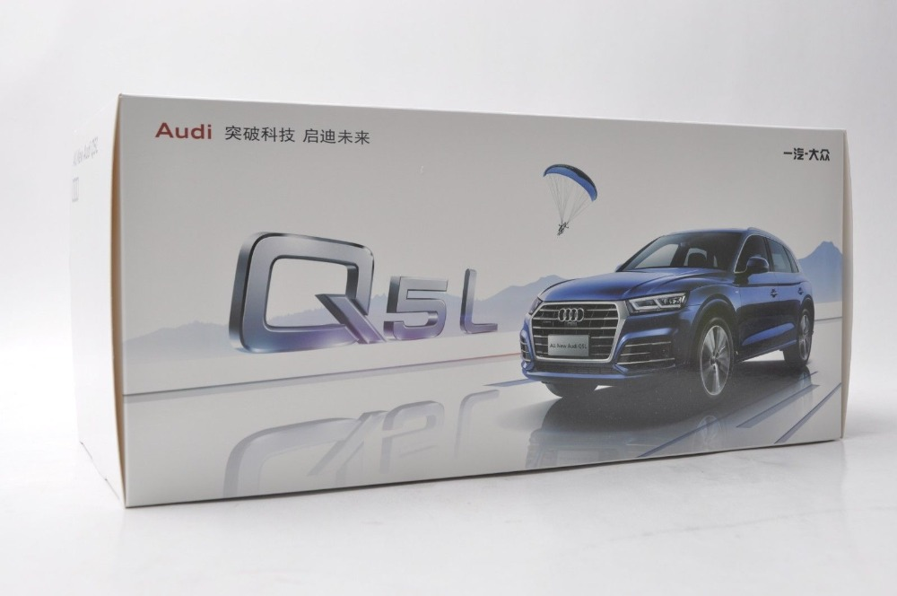 1/18 Audi Q5L Q5 2018 White SUV Alloy Toy Car, Diecast Scale Model Car, Collectible Model Car, Miniature Collection Die-cast Toy Vehicles Gifts