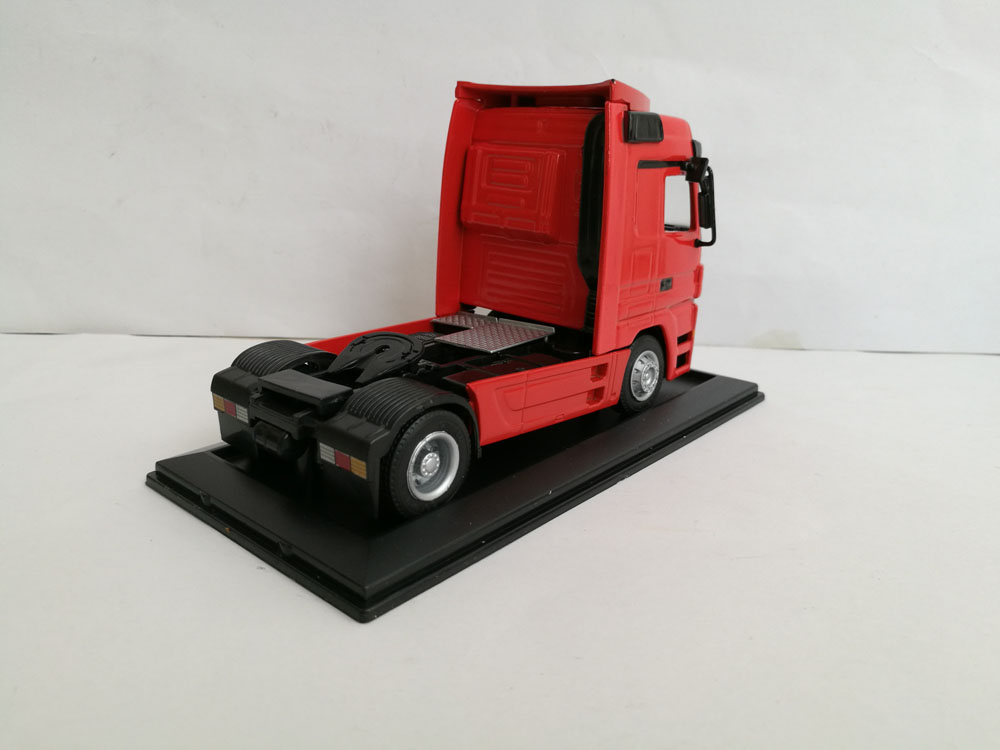 1:48 Benz Semi truck Cab Toys, (Scale Model Truck, Construction vehicles Scale Model, Alloy Toy Car, Diecast Scale Model Car, Collectible Model Car, Miniature Collection Die cast Toy Vehicles Gifts).
