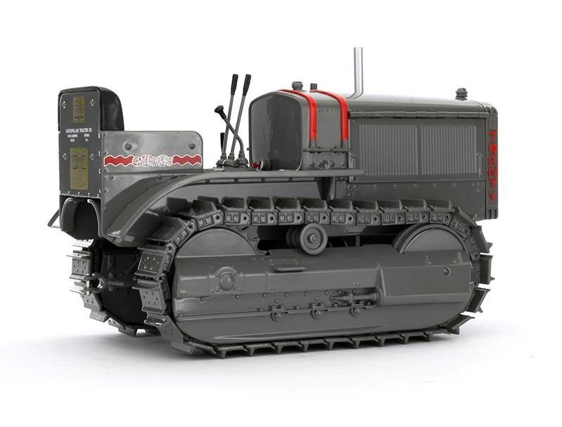1:16 CAT Twenty Track-Type Tractor with metal tracks toy, (Scale Model Truck, Construction vehicles Scale Model, Alloy Toy Car, Diecast Scale Model Car, Collectible Model Car, Miniature Collection Die cast Toy Vehicles Gifts).