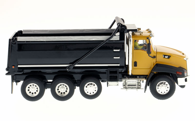 1/50 Scale CATERPILLAR CT660 Conventional Day Cab Trucks Scale Model, CAT CT660 Day Cab Dump Truck Die-cast Model.