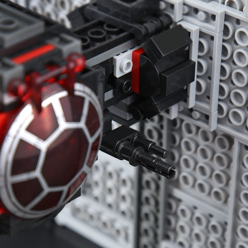 Custom First Order Special Forces TIE Fighter Building Bricks Toy Set 213 Pieces, (MOC Custom Brick Sets, Compatible Building Blocks Toys Ideas, Building Bricks Meaning)