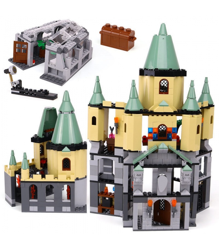 Custom Hogwarts Castle Building Bricks Toy Set 1033 Pieces, (MOC Custom Brick Sets, Compatible Building Blocks Toys Ideas, Building Bricks Meaning)