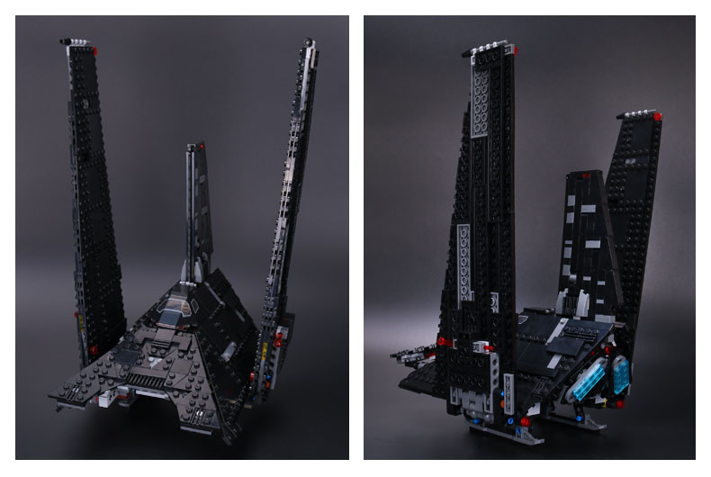 Custom Krennic's Imperial Shuttle Building Bricks Toy Set, (MOC Custom Brick Sets, Compatible Building Blocks Toys Ideas, Building Bricks Meaning)
