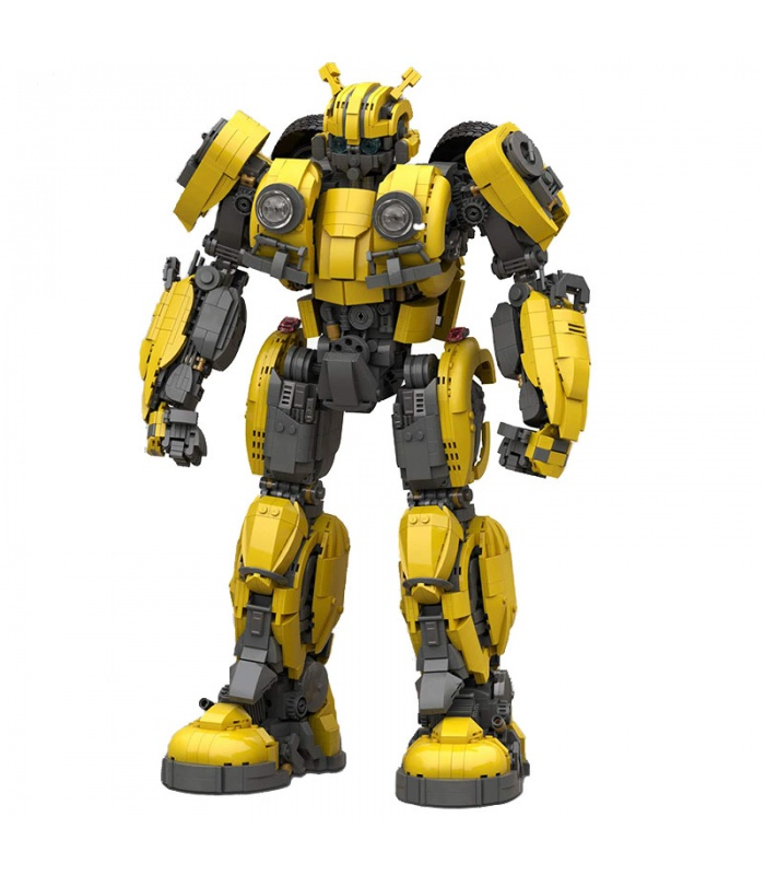 Custom MOC Bumblebee Transforming Building Bricks Toy Set 3500 Pieces, (MOC Custom Brick Sets, Compatible Building Blocks Toys Ideas, Building Bricks Meaning)