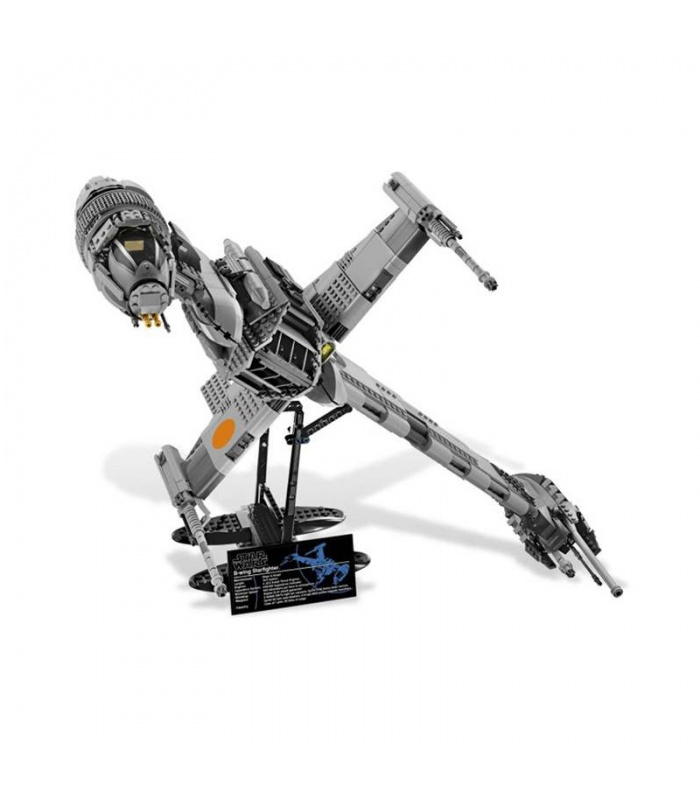 Custom Star Wars B-Wing Starfighter Building Bricks Toy Set, (MOC Custom Brick Sets, Compatible Building Blocks Toys Ideas, Building Bricks Meaning)