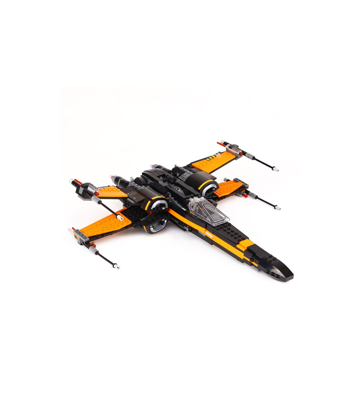 Custom Star Wars Poe's X-Wing Fighter Building Bricks Toy Set 784 Pieces, (MOC Custom Brick Sets, Compatible Building Blocks Toys Ideas, Building Bricks Meaning)