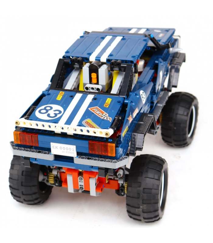 Custom Technology 4x4 Crawler Exclusive Edition Building Bricks Toy Set 1605 Pieces, (MOC Custom Brick Sets, Compatible Building Blocks Toys Ideas, Building Bricks Meaning)