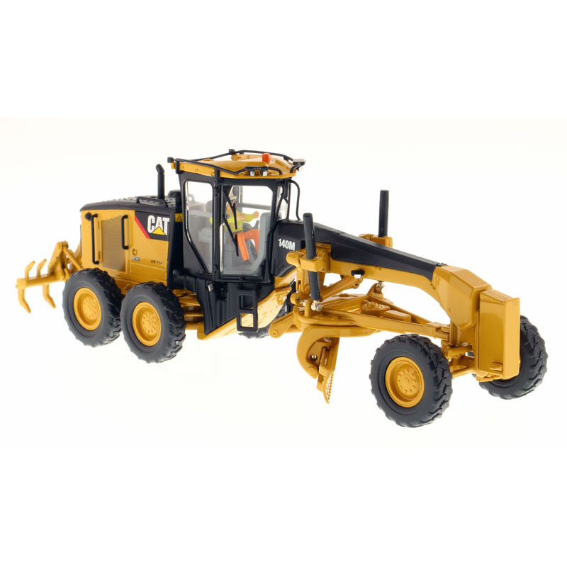 1:50 DM-85236 CAT 140M Motor Grader toy, (Scale Model Truck, Construction vehicles Scale Model, Alloy Toy Car, Diecast Scale Model Car, Collectible Model Car, Miniature Collection Die cast Toy Vehicles Gifts).