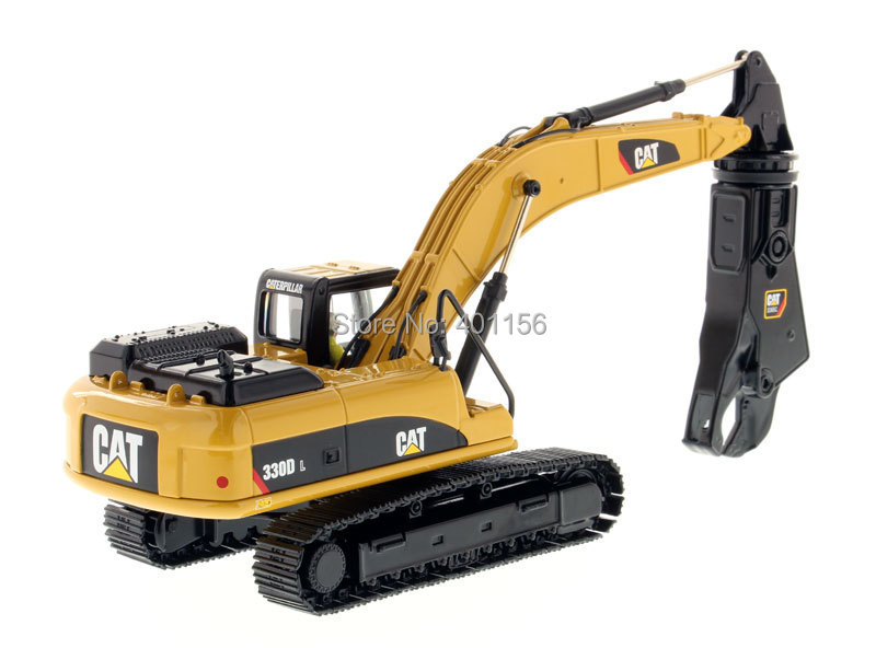 1:50 DM-85277 CAT330D L Hydraulic Excavator with Shear toy, (Scale Model Truck, Construction vehicles Scale Model, Alloy Toy Car, Diecast Scale Model Car, Collectible Model Car, Miniature Collection Die-cast Toy Vehicles Gifts).