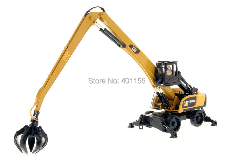 1:50 DM -85919 CAT MH3049 Series II Material Handler w/Tools toy, (Scale Model Truck, Construction vehicles Scale Model, Alloy Toy Car, Diecast Scale Model Car, Collectible Model Car, Miniature Collection Die-cast Toy Vehicles Gifts).