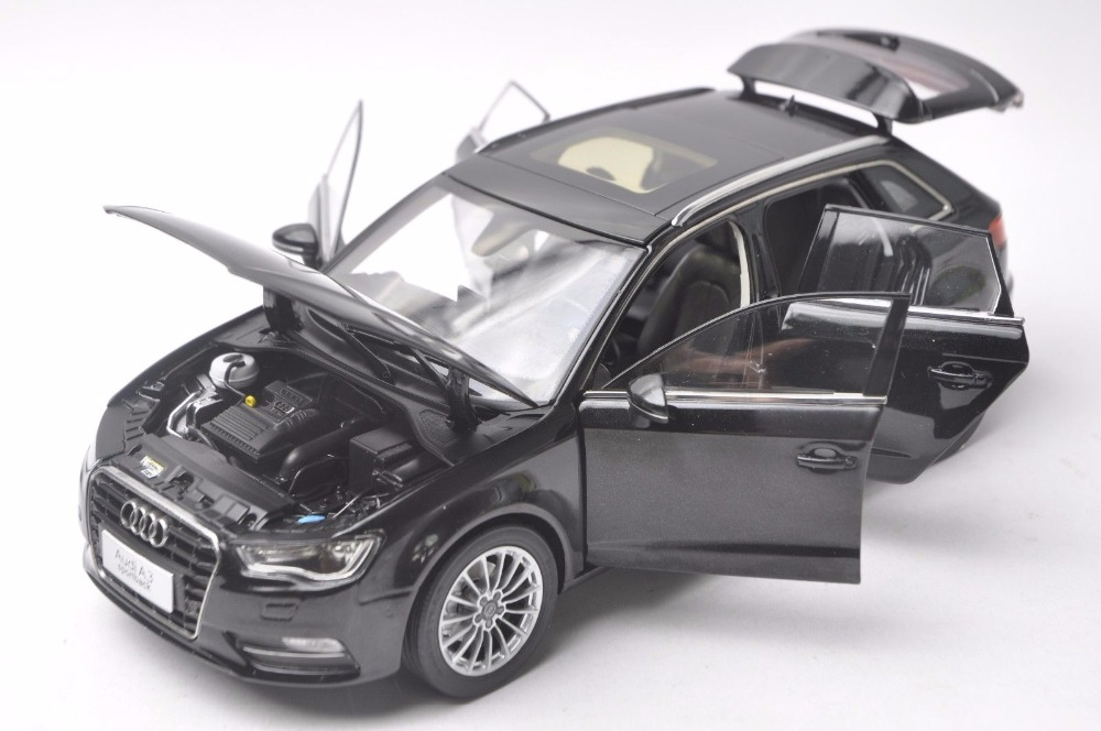 1:18 Diecast Model for Audi A3 Sportback Black SUV Alloy Toy Car Miniature Collection Gift S3 (Alloy Toy Car, Diecast Scale Model Car, Collectible Model Car, Miniature Collection Die-cast Toy Vehicles Gifts)