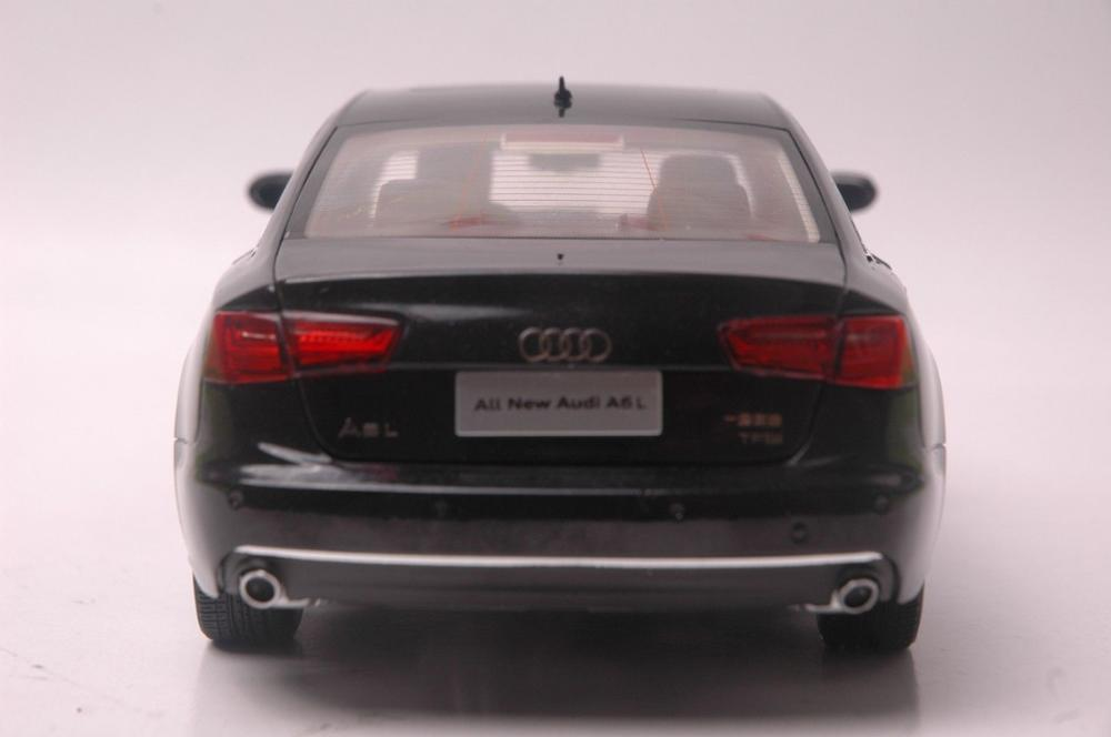 1:18 Diecast Model for Audi A6L 2012 Black Sedan Alloy Toy Car Miniature Collection Gifts A6 S6 (Alloy Toy Car, Diecast Scale Model Car, Collectible Model Car, Miniature Collection Die-cast Toy Vehicles Gifts)