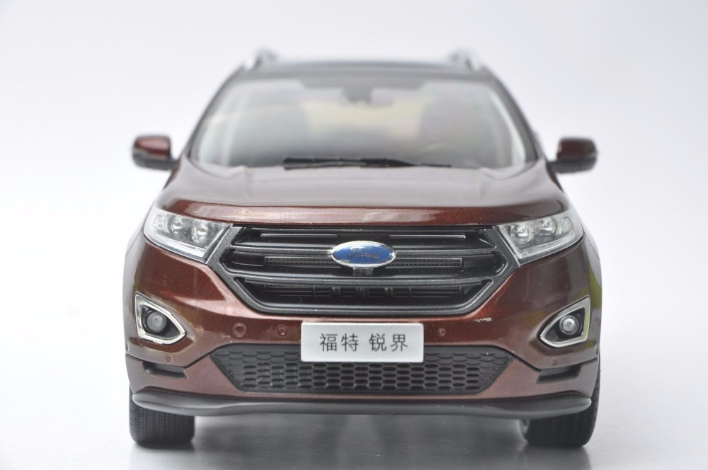 1:18 Diecast Model for Ford Edge 2016 Red SUV Alloy Toy Car Miniature Collection Gift (Alloy Toy Car, Diecast Scale Model Car, Collectible Model Car, Miniature Collection Die-cast Toy Vehicles Gifts)