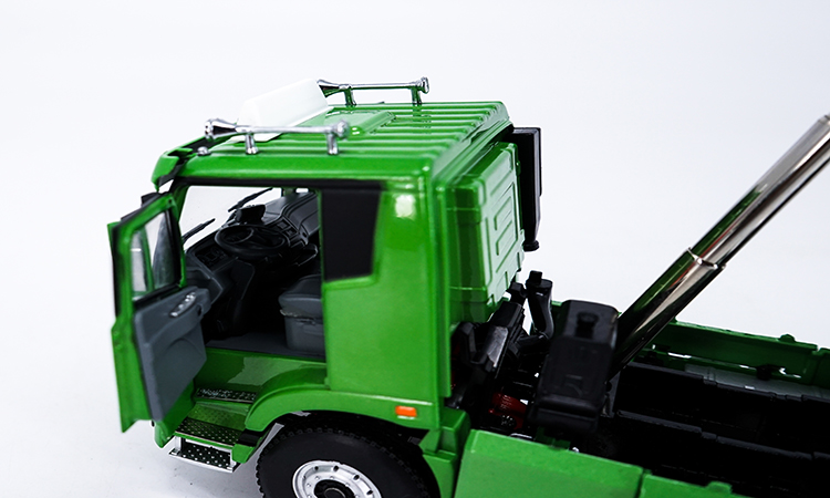 1:36 Diecast Model for Foton Daimler Auman GTL Slag Truck Alloy Toy Car Miniature Collection Gifts (Alloy Toy Car, Diecast Scale Model Car, Collectible Model Car, Miniature Collection Die-cast Toy Vehicles Gifts)