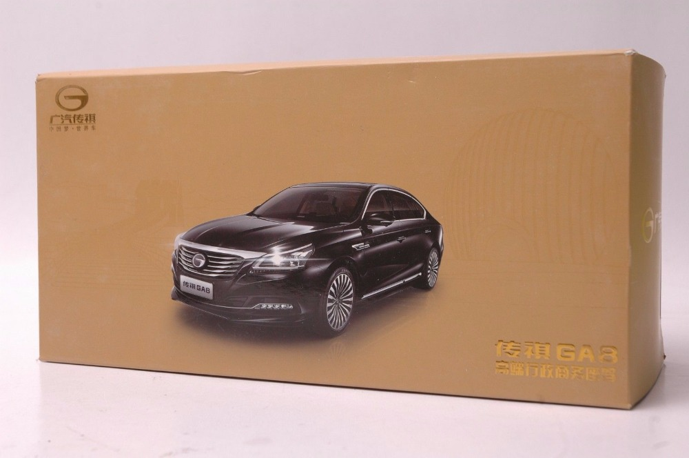 1:18 Diecast Model for GAC Trumpchi GA8 2016 Black Alloy Toy Car Miniature Collection Gifts China Brand (Alloy Toy Car, Diecast Scale Model Car, Collectible Model Car, Miniature Collection Die-cast Toy Vehicles Gifts)