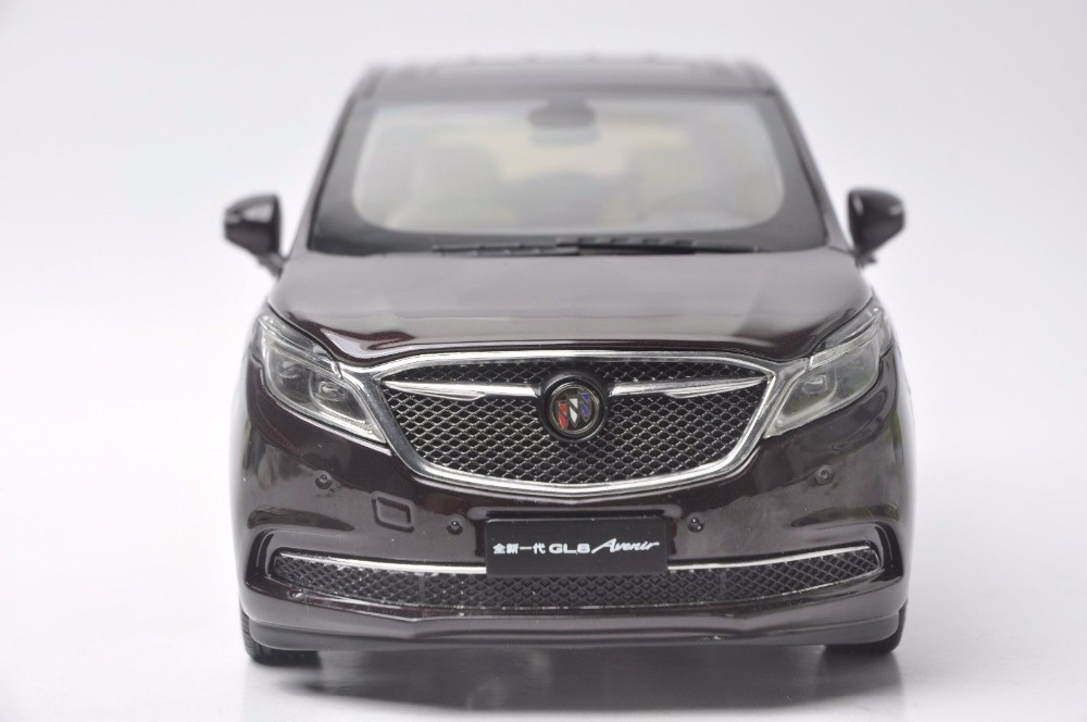 1:18 Diecast Model for GM Buick GL8 Avenir 2017 Red MPV Alloy Toy Car Miniature Collection Gift (Alloy Toy Car, Diecast Scale Model Car, Collectible Model Car, Miniature Collection Die-cast Toy Vehicles Gifts)