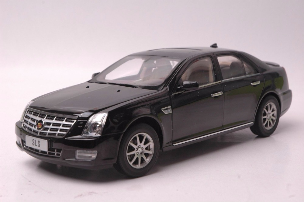 1:18 Diecast Model for GM Cadillac SLS Black Alloy Toy Car Miniature Collection Gifts (Alloy Toy Car, Diecast Scale Model Car, Collectible Model Car, Miniature Collection Die-cast Toy Vehicles Gifts)