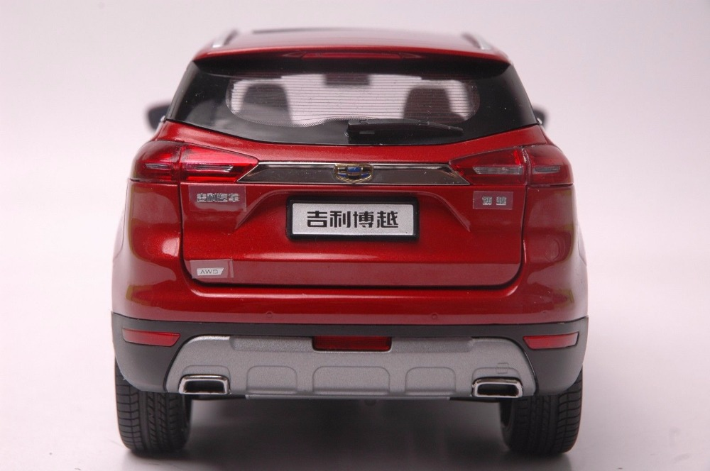 1:18 Diecast Model for Geely Boyue Atlas 2016 SUV Emgrand GT Proton X7 Alloy Toy Car Miniature Collection Gifts China Brand GX7 (Alloy Toy Car, Diecast Scale Model Car, Collectible Model Car, Miniature Collection Die-cast Toy Vehicles Gifts)