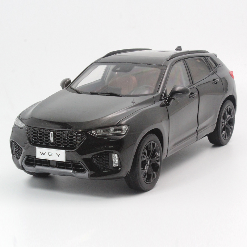 1:18 Diecast Model for Great Wall WEY VV7 2017 SUV Alloy Toy Car Miniature Collection Gifts China Brand (Alloy Toy Car, Diecast Scale Model Car, Collectible Model Car, Miniature Collection Die-cast Toy Vehicles Gifts)