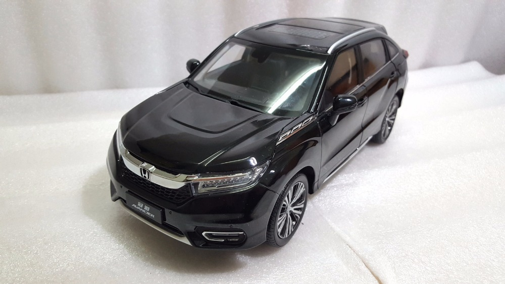 1:18 Diecast Model for Honda Avancier 2016 Black SUV Alloy Toy Car Miniature Collection Gifts (Alloy Toy Car, Diecast Scale Model Car, Collectible Model Car, Miniature Collection Die-cast Toy Vehicles Gifts)