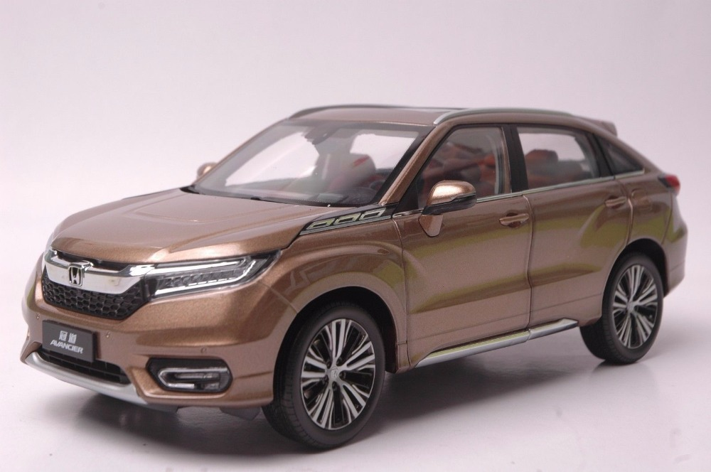 1:18 Diecast Model for Honda Avancier 2016 Brown SUV Alloy Toy Car Miniature Collection Gifts HRV (Alloy Toy Car, Diecast Scale Model Car, Collectible Model Car, Miniature Collection Die-cast Toy Vehicles Gifts)