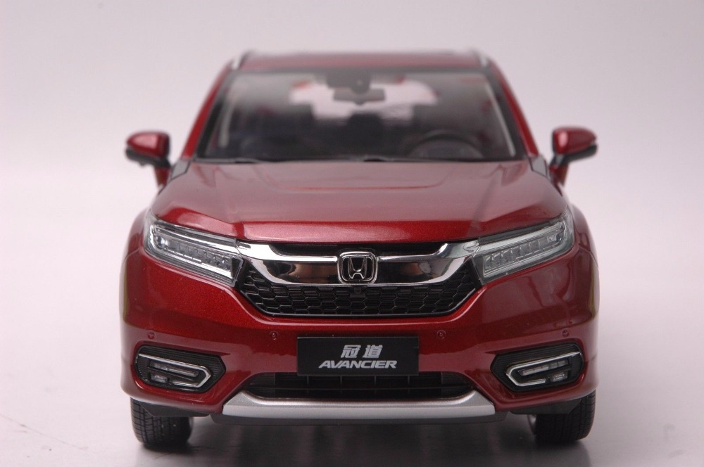 1:18 Diecast Model for Honda Avancier 2016 Red SUV Alloy Toy Car Miniature Collection Gifts HRV (Alloy Toy Car, Diecast Scale Model Car, Collectible Model Car, Miniature Collection Die-cast Toy Vehicles Gifts)