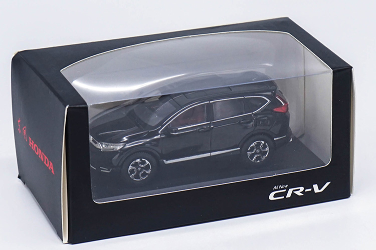 1:43 Diecast Model for Honda CR-V 2017 Black SUV Alloy Toy Miniature Collection Gifts CRV CR V Car (Alloy Toy Car, Diecast Scale Model Car, Collectible Model Car, Miniature Collection Die-cast Toy Vehicles Gifts)